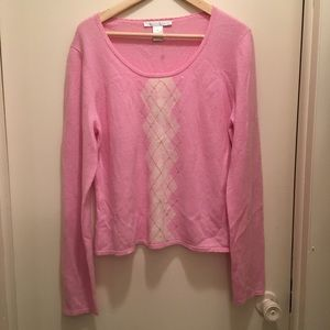 Grayson and Dunn Cashmere Pink Lux Sweater
